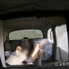 Hot amateur teen anal fingered in a fake taxi