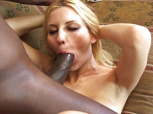 Blondie Craves For Black Meat