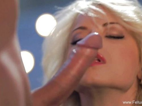 Dazzling Blowjob With Cum