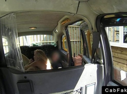 Massive Tits Blonde Anal Fucking In Fake Taxi