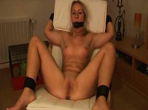 Young Blonde - Bound, Gagged And Fucked