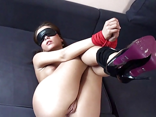 Amateur Tied Up Fuck
