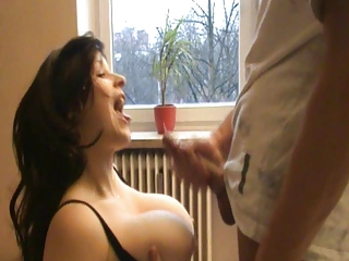 Busty girl knows how to please!