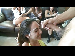 Girl party cumshot compilation