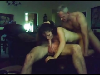 Girlfriend shared with an oldman
