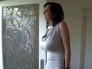 Gorgeous dark milf