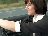 horny mom stopped car to masturbate