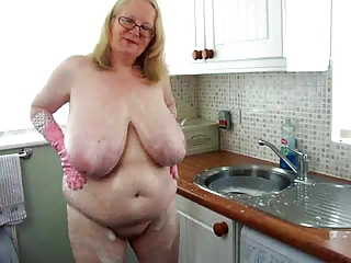 Mature with saggy boos