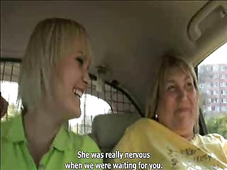Mother and not her daughter in an gangbang - part. 1