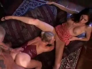 Sharing his wife with a hot blonde-f70