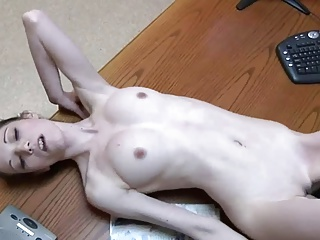 Skinny White Trailer Trash NOT Daughter Fucked By NOT Daddy