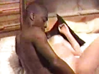 Young wife fucks a huge black bull