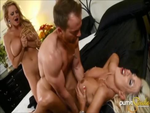 Amazing Puma Swede   Kelly Madison Threeway!
