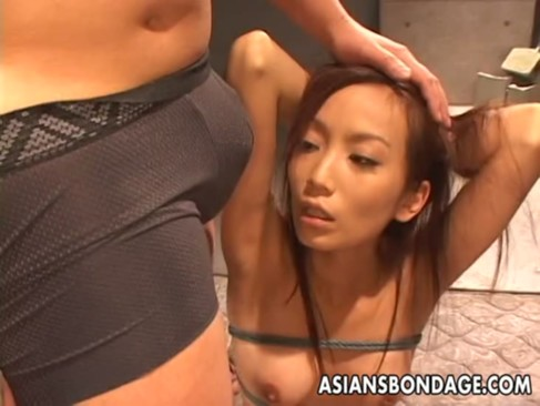 Asian babegets to befucked hard as she is ...