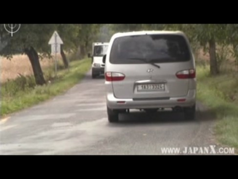 Asian Guys fuck Hitch Hiking White Babes