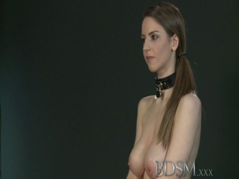 BDSM XXX Young big breasted sub gets hard ...