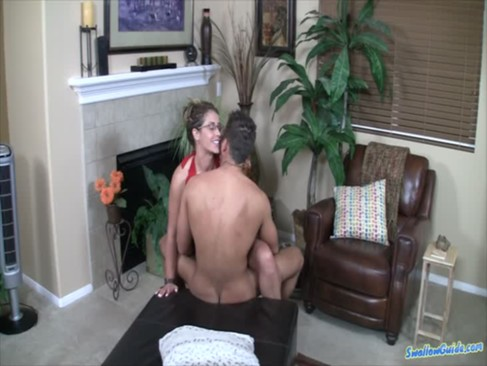 Eva Notty gets fucked and swallows cum fo ...