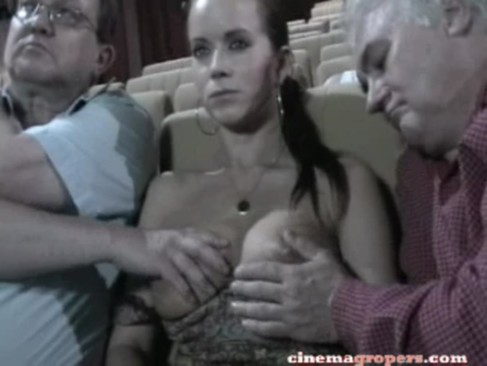 Groped In Cinema 4