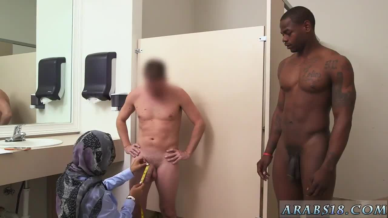 Arab student first time Black vs White My Ultimate Dick Challenge