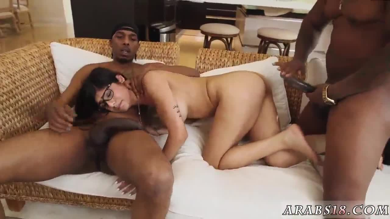 Arab girlchum and hot sexy My Big Black Threesome