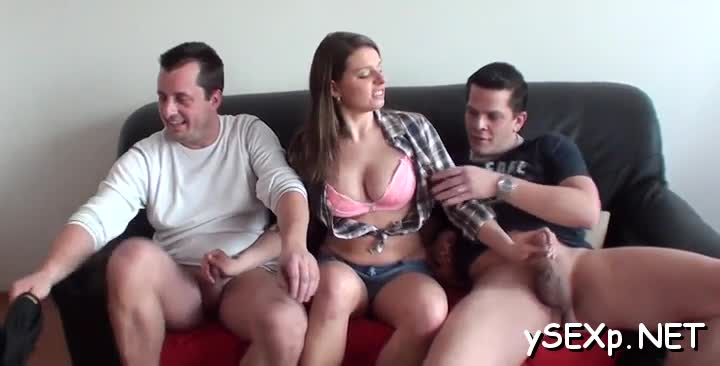 Incredible two on two sex