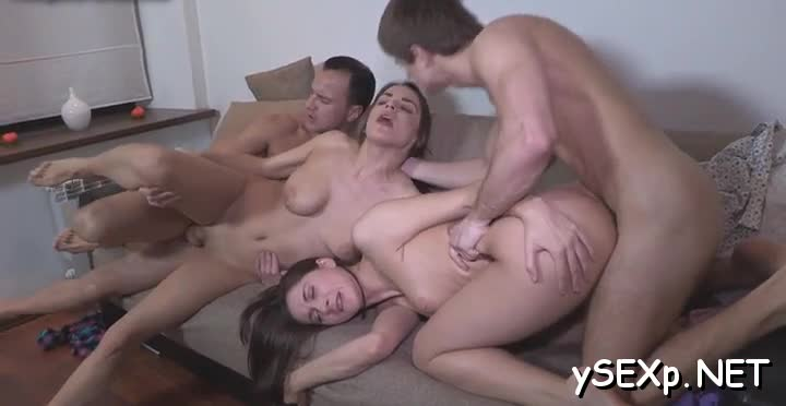The wildest group sex ever
