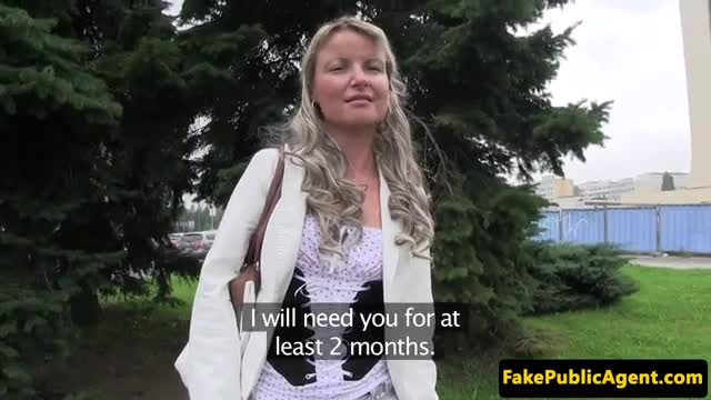image Busty euro pickedup and cockriding with ass