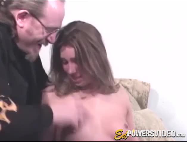 First timer cutie slowly screwed and filmed by producer