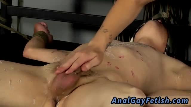 Gay bondage glasgow and frat boys first time Reece Gets