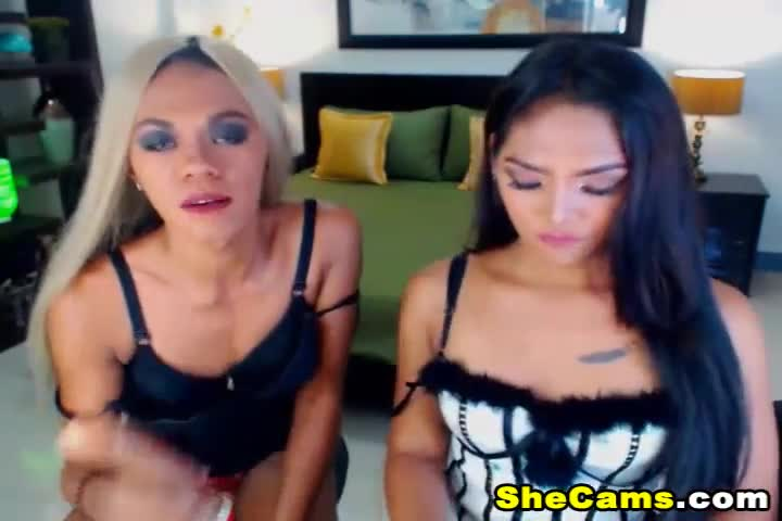 Horny Shemale Fucked her Friend Tight Ass