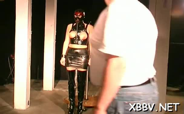 Nipple torture spices up sex