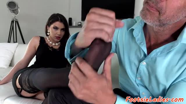 Toelicked euro assfucked and jizzed on feet