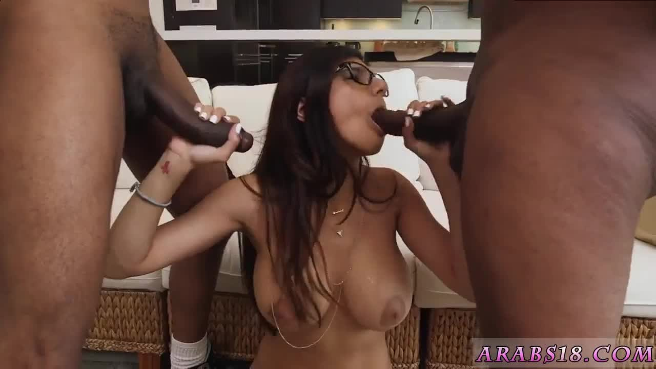 Arab kissing and mother first time My Big Black Threesome