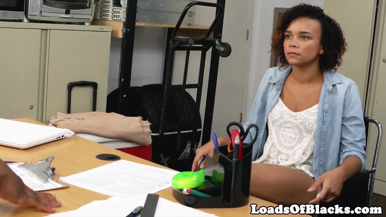 Casting teen with curly hair fucked by bbc