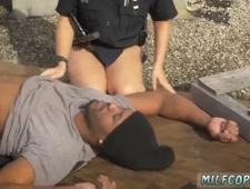Fake police threesome Break In Attempt Suspect has to plow his way out of