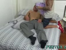 Young gay anal and toe sucking Caleb Gets A Surprise Foot Job