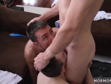 Young boy amateur blowjob and huge cock rips open gay Elder Sorenson has