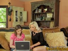 Real teen and milf fucked