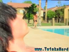 Gay chum s comrade s brothers fuck in satin videos The twink commences to