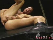 Fisting gaysexy xxx Lean and mean Mitchell James comes in the pic after