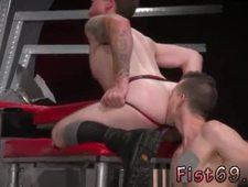 Male fisted stretched anus gallery gay Tatted sweetheart Bruce Bang and
