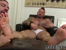 Guy sees a sigh offering foot massages gay sex tape Ricky Larkin is being
