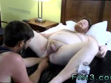 Emo boy gay porn rim job first time Sky Works Brock s Hole with his Fist