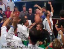 Foreign boy gay porn movie dancing on tables and throwing drinks around
