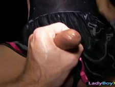 A video by hottiegina: Asian ladyboy with huge fake tits barebacked   uploaded 2 hours, 42 minutes ago