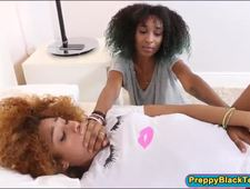 A video by missydcup: Two ebony teens shared a white hard cock | uploaded 4 hours, 39 minutes ago