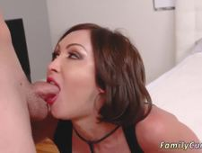 Blonde milf fucks companion comrade s daughters girlally and mom