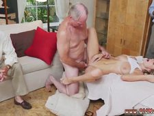 Old asshole and old handjob first time Molly Earns Her Keep