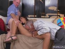 Interracial knee high socks fucking hairy fat old She came in we