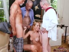 Milf seduces young girl Frannkie And The Gang Tag Team A Door To Door